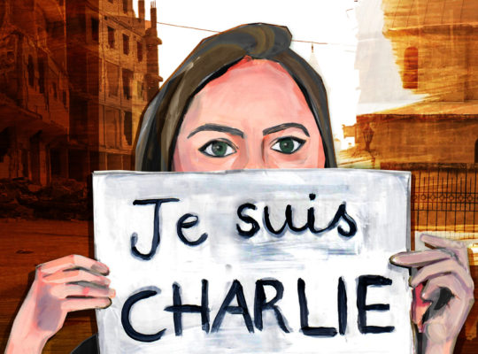 Je Suis Charlie in East Aleppo